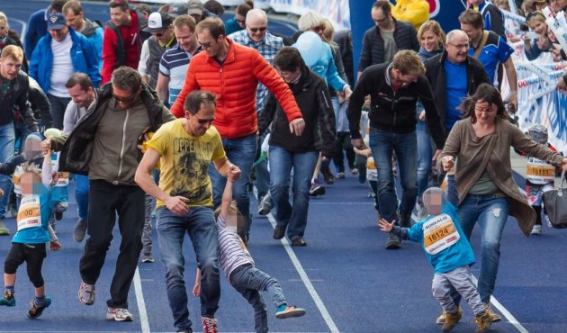 Juniormarathon in Linz 2016
